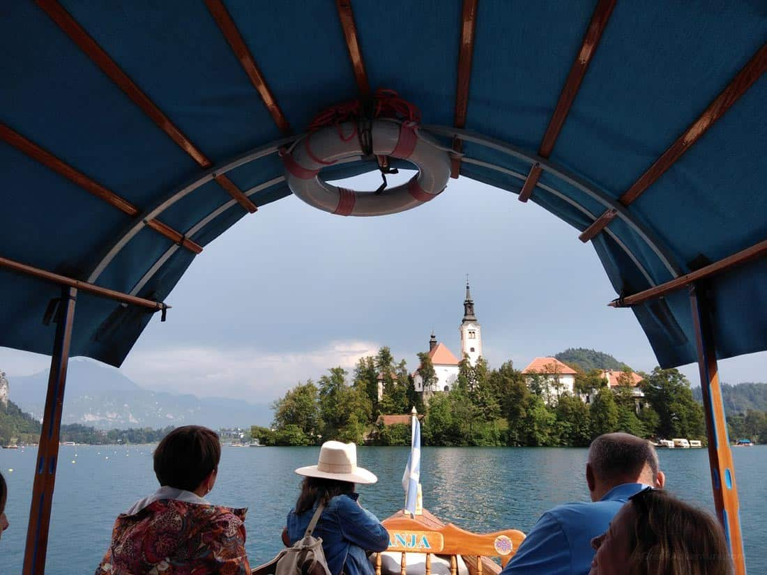 Boat Ride at Lake Bled