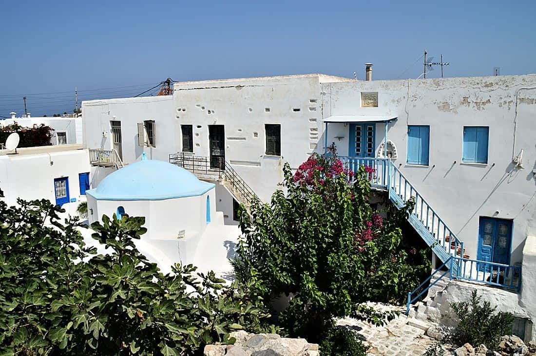 Castle of Antiparos Greece 1