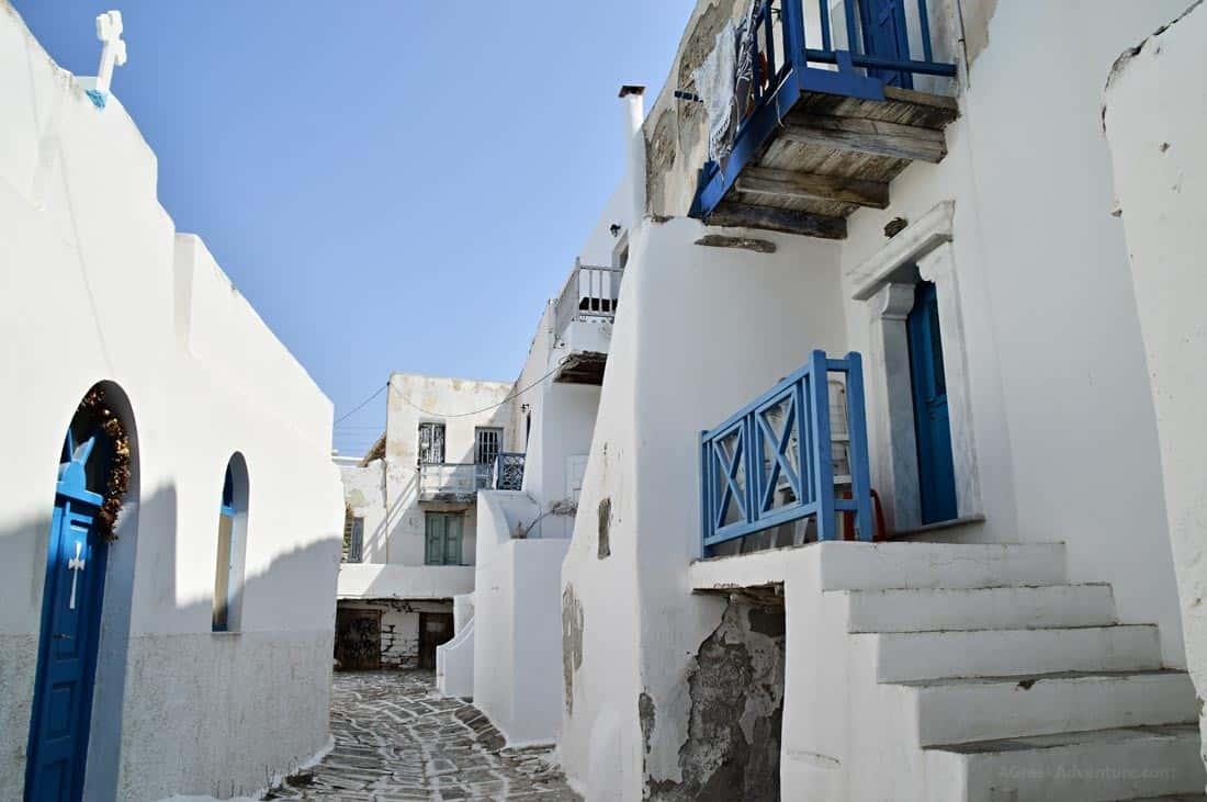 Castle of Antiparos Greece 2