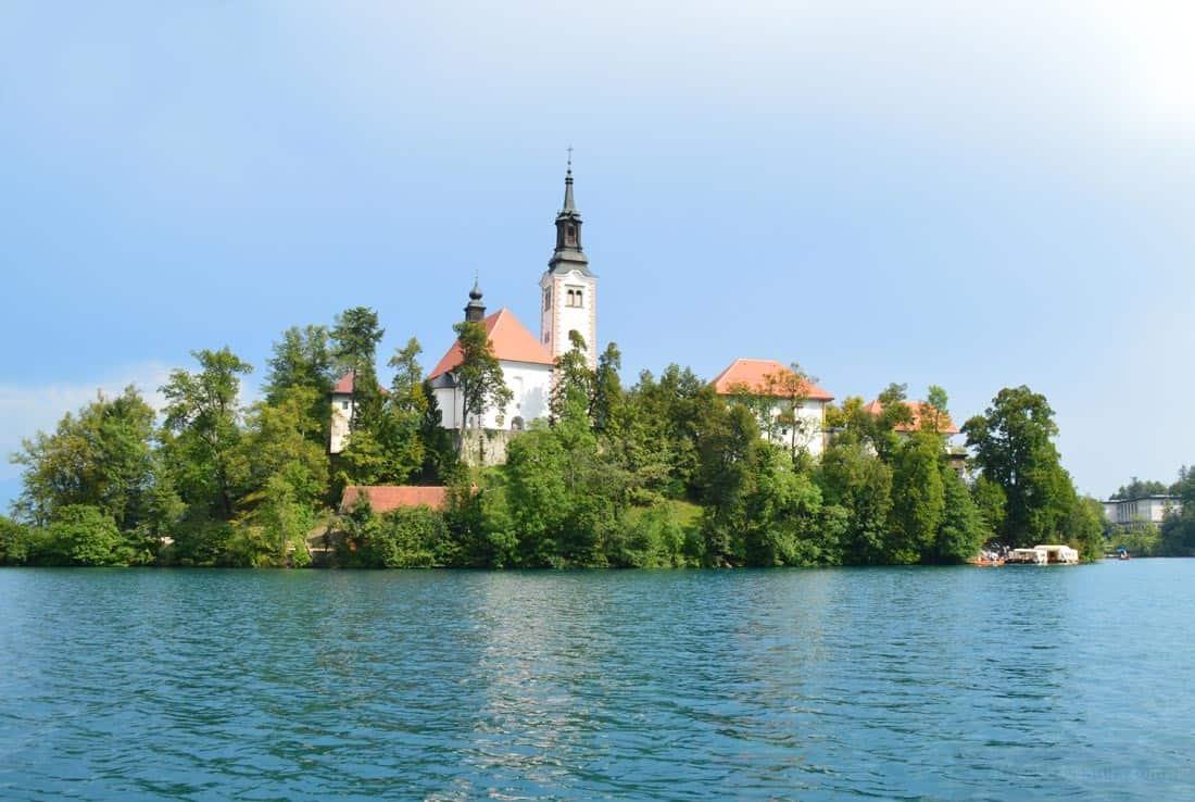 The Island Lake Bled