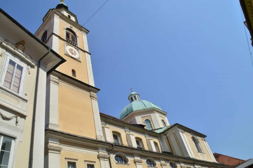 Church of St. Nicholas Ljubljana Slovenia