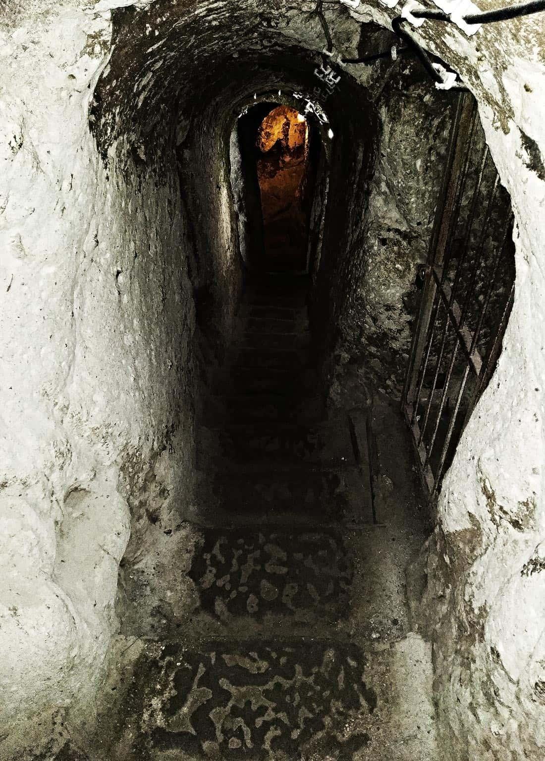 Cappadocia Turkey Derinkuyu Underground City 1
