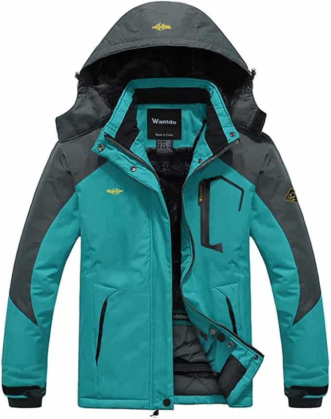 Women's Warm Windproof Coat Mountain Ski Jacket