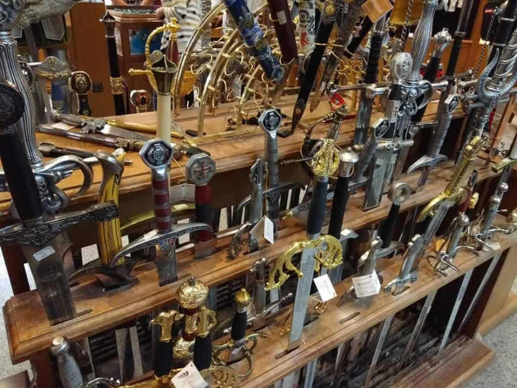 Toledo Spain is Famous for Sword Making