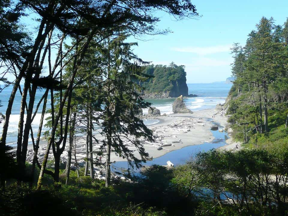 Olympic Coast - Best Relaxing Destinations in USA ruby-62191_960_720