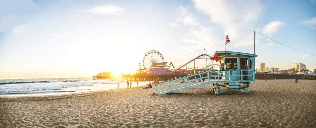 Santa Monica - Great Weekend Getaways for Couples