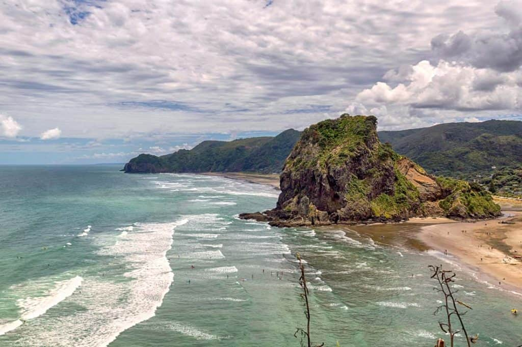 Lion rock at piha beach Most Beautiful Places In New Zealand