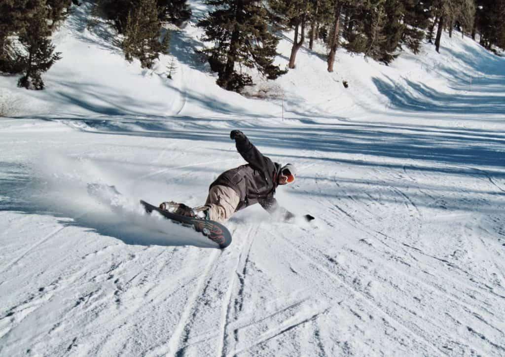 Snowboarding Pacific Northwest