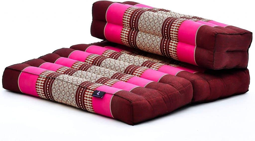 Foldable Meditation Floor Seat 2 in 1 Set Meditation Meditation Mat and Cushion Underlay