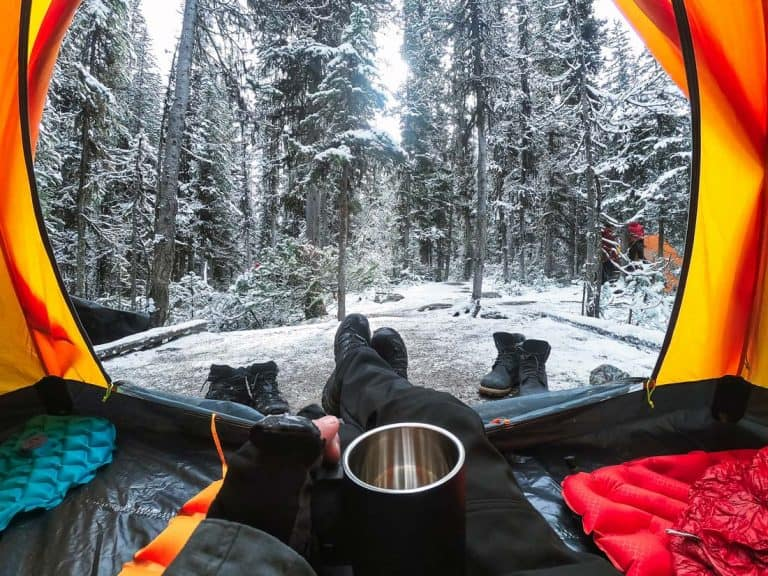 Tent Camping in 30-degree Weather
