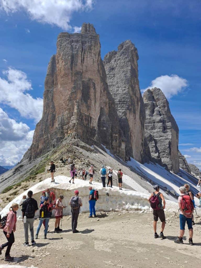 Tre Cime de Lavaredo Best Hikes in the Dolomites