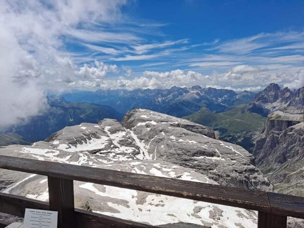 Piz Boe in Dolomites