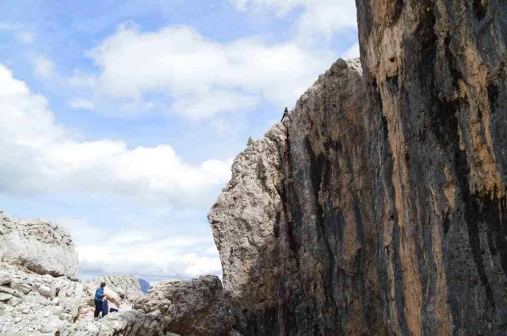 Cinque Torri Rock Climbing