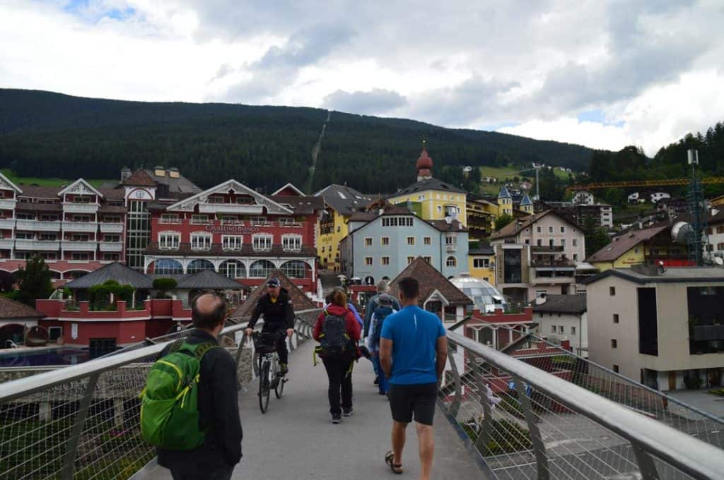 Towns in the Dolomites Ortisei 3