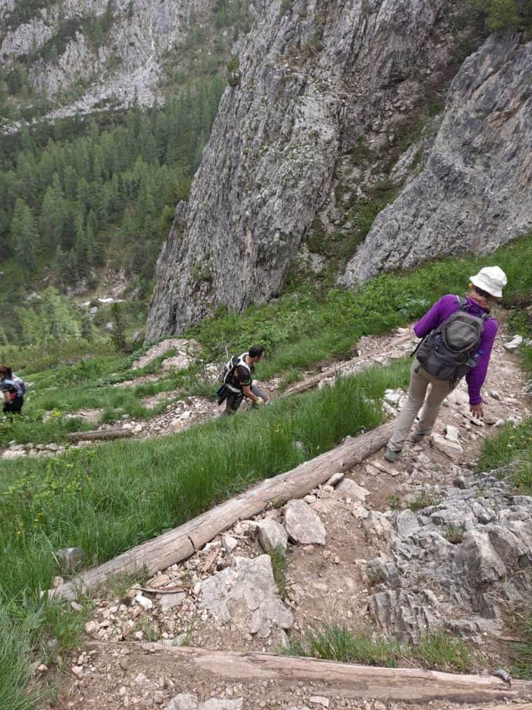 Hiking Cinque Torri