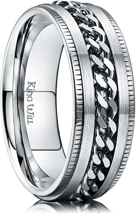 Spinner Anxiety Ring
